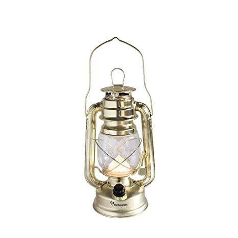 Time Concept, Inc Vacances LED Lantern Gold