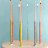 Tops Malibu Glitter Wish Candles Multi Color
