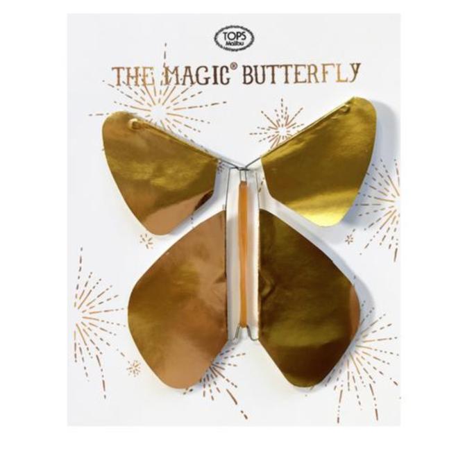 Tops Malibu Magic Flying Butterfly Gold