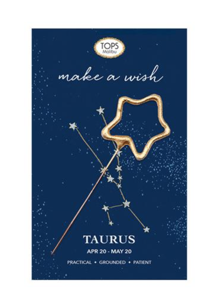 Tops Malibu Zodiac Mini Sparkler Card