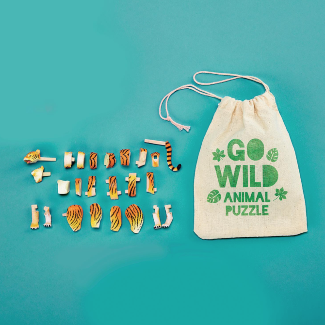 Two's Company Animal Puzzle