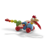 Two's Company Hand-Crafted Pull Toy