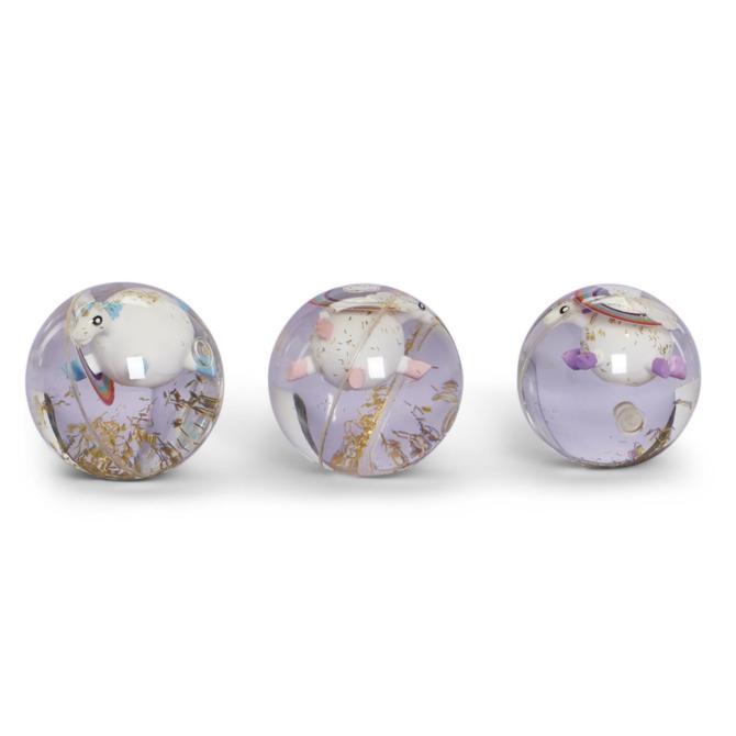 Two's Company LED Unicorn Bouncy Ball