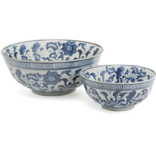 Two's Company Lotus Flower Bowl Large