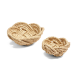 Two's Company Thera S/2 Rope Bowls