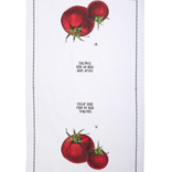 Two's Company Farm To Table Dishtowel - Tomato