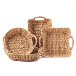 Two's Company Weavings Baskets -