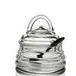 William Yeoward Honeybee 1x Honey Jar & Spoon 4 1/2in