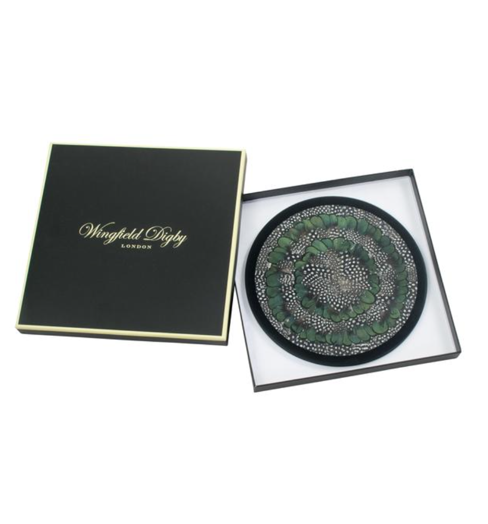 Wingfield Digby Guinea Fowl and Green Pheasant Placemats - Set of 2