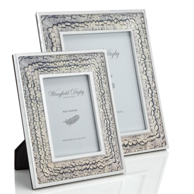 Wingfield Digby White Pheasant Frame 8x10