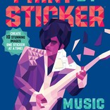 Workman Publishing Co. Musical Icons Paint by Stickers