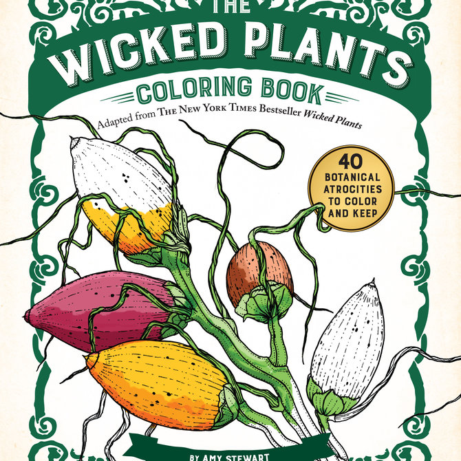Workman Publishing Co. Wicked Plants Coloring - 73683