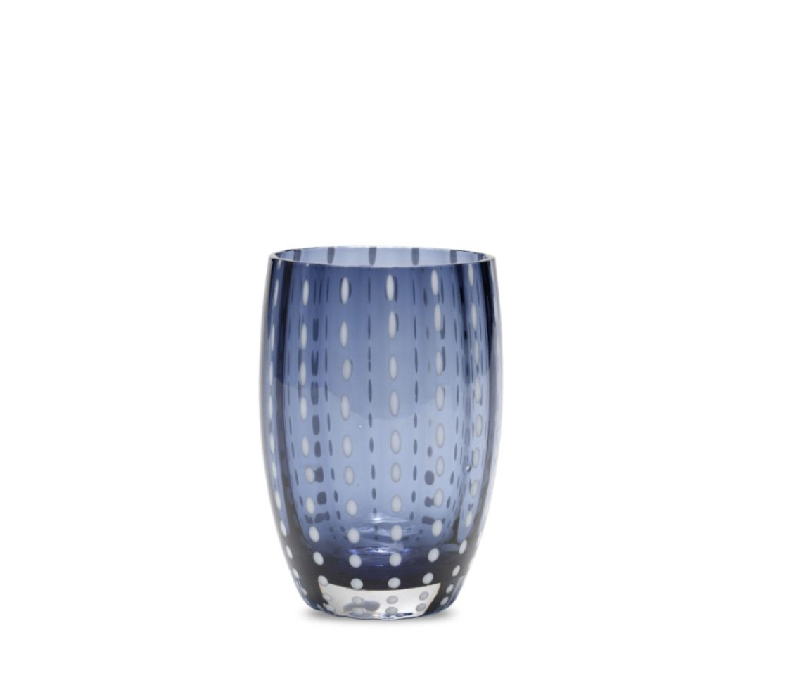 Zafferano Perle Tumbler blue grey PR00115H