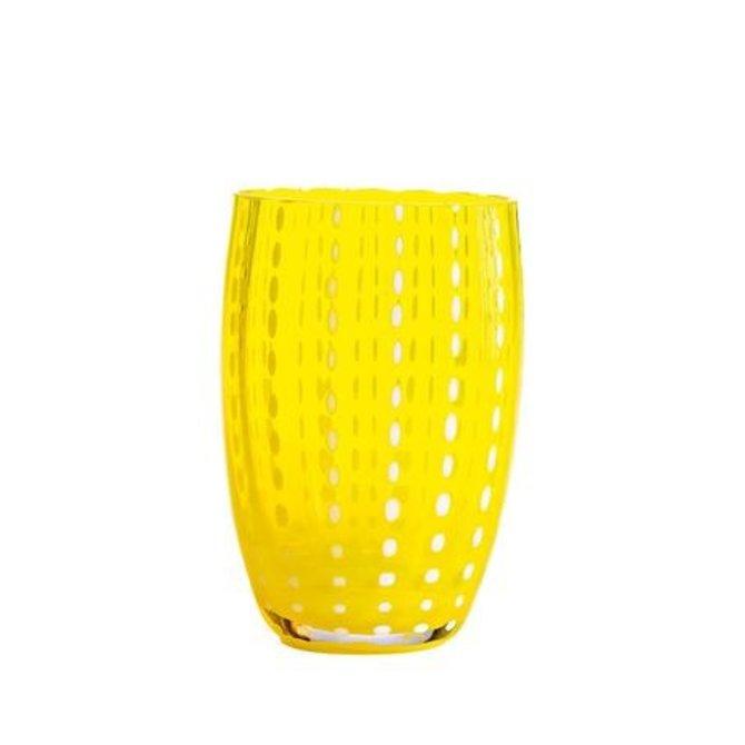 Zafferano Perle Tumbler Yellow PR00108H