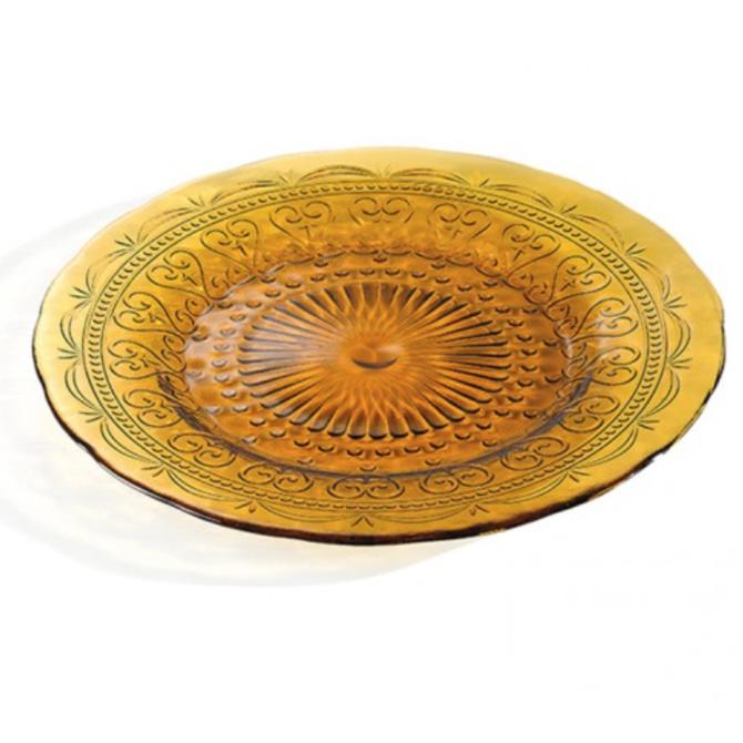 Zafferano Provenzale Plate - amber - small PVO1104