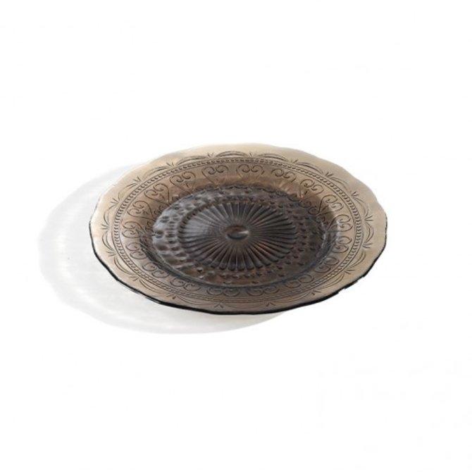 Zafferano Provenzale Plate - grey - small PV01114