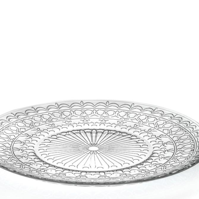 Zafferano Provenzale Plate -transparent - small PV01101