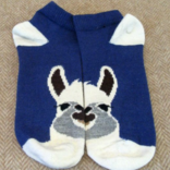 Peruvian Link Alpaca Face Sock