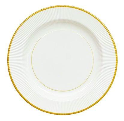 Sophistiplate Classic Gold Righe Dinner Plate