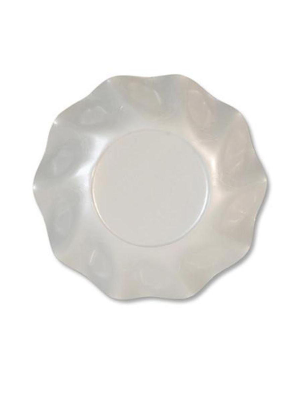 Sophistiplate Pearly White Petalo Appetizer/ Dessert Bowl