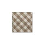 Sophistiplate Vichy Taupe Napkins