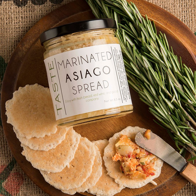 Taste Artisanal Market Marinated Asiago Spread