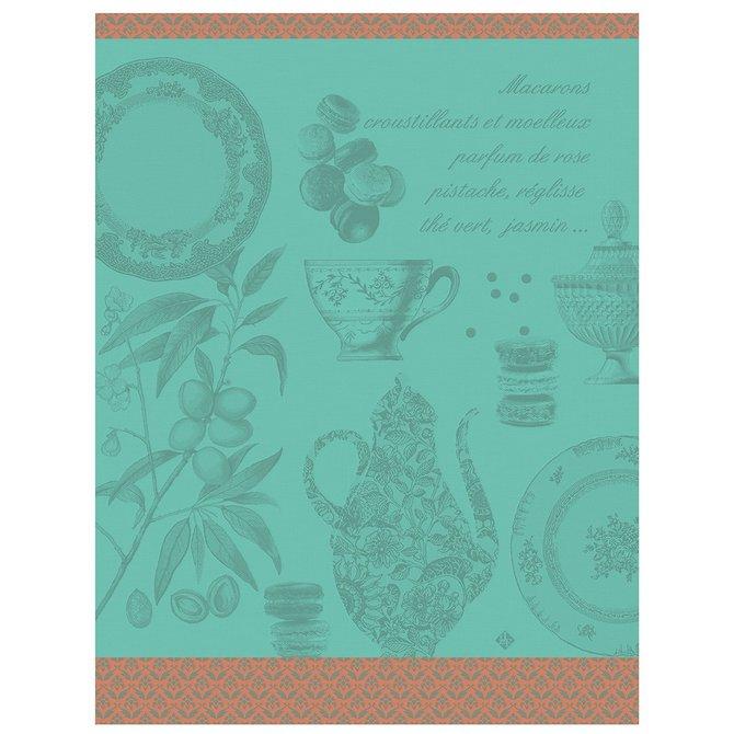 LJF Tea Towel Macarons Mint