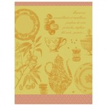 LJF Tea Towel Macarons Mango