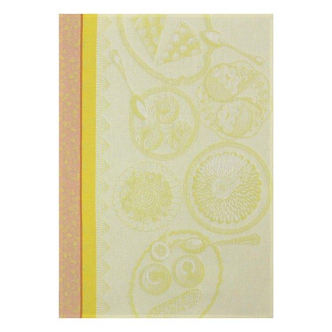 LJF Delices Gourmands Citron Tea Towel