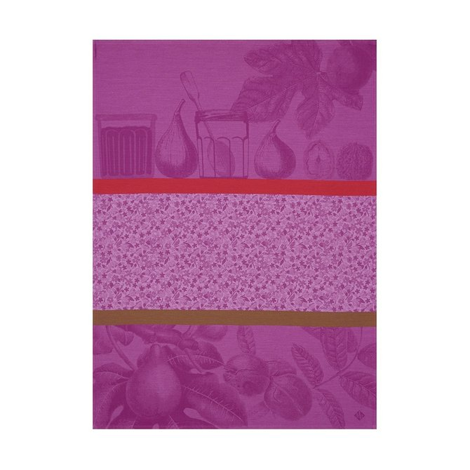 LJF Confiture purple Tea Towel