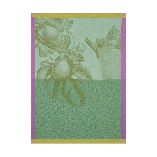 LJF Fruits Du Verger Green Tea Towel