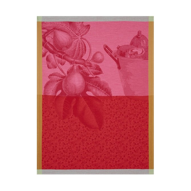 LJF Fruits du Verger Tea Towel Coulis