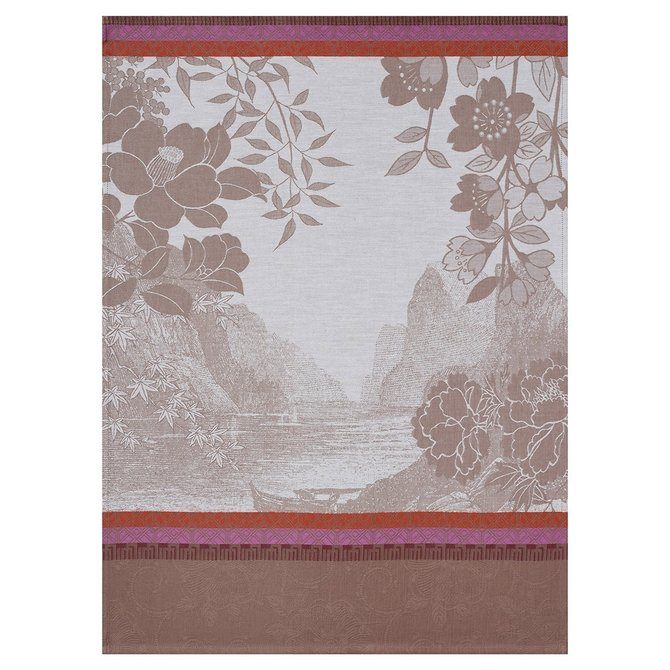 LJF Voyages Along Tea Tea Towel
