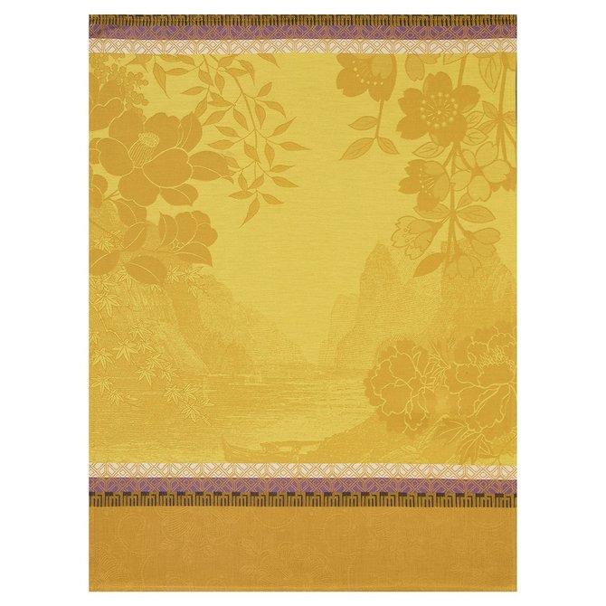 LJF Voyages Along Amber Tea Towel