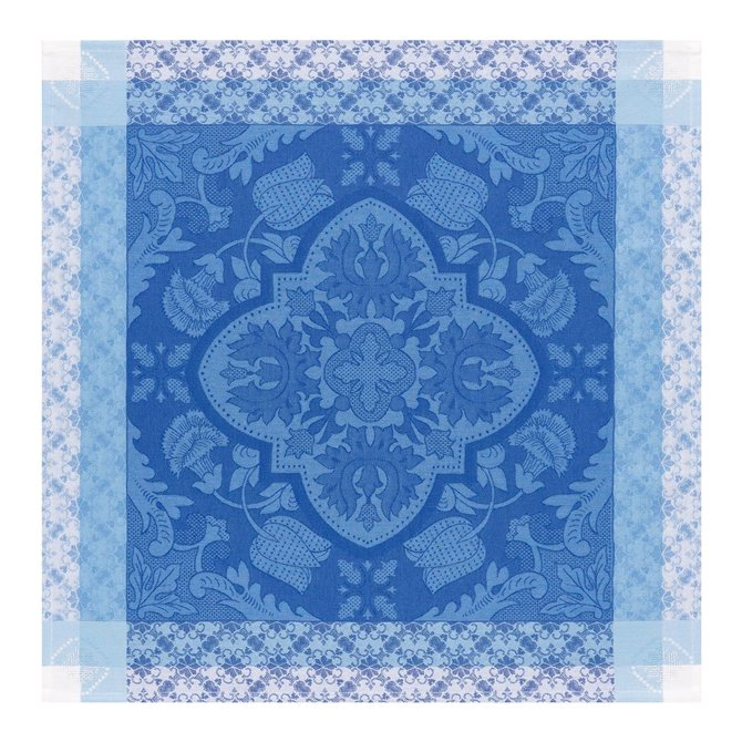 LJF Napkin Azulejos Blue China