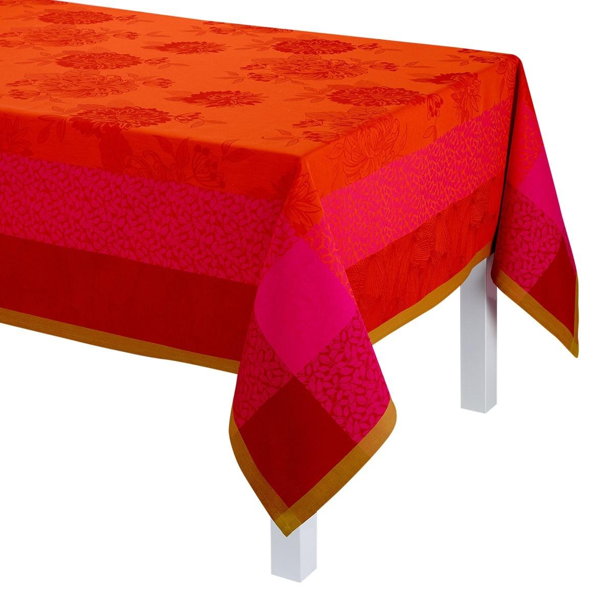 "LJF Tablecloth Parfum Bagatele Nasturtium 69""x69"""