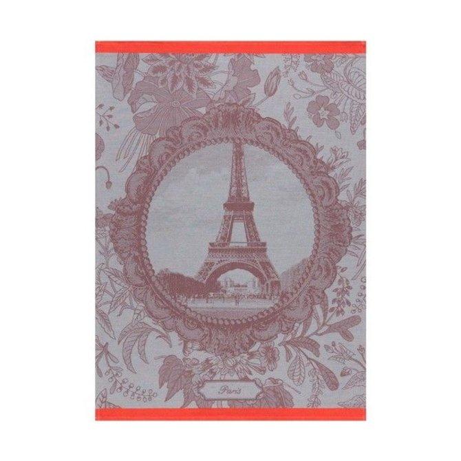 LJF Souvenir De Paris Grey Tea Towel