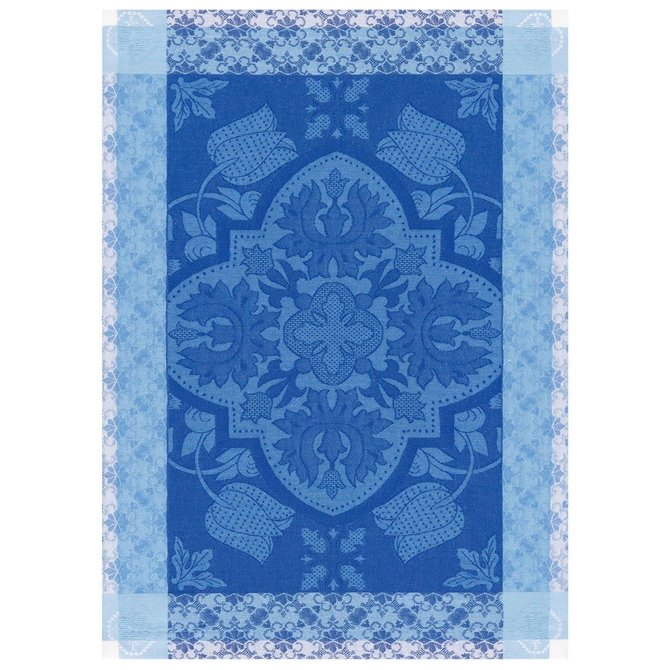 LJF Placemat Azulejos Blue China