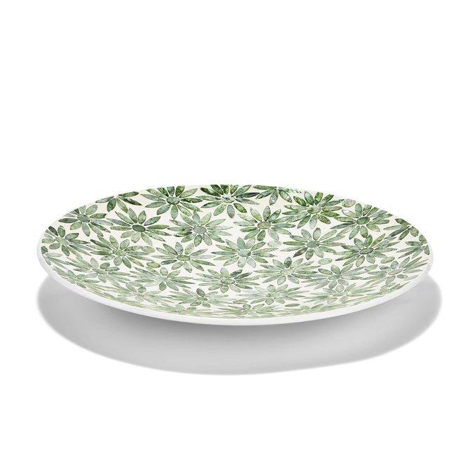 Two's Company Daisy Decorative Platter