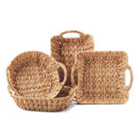 Two's Company Weavings Baskets Square