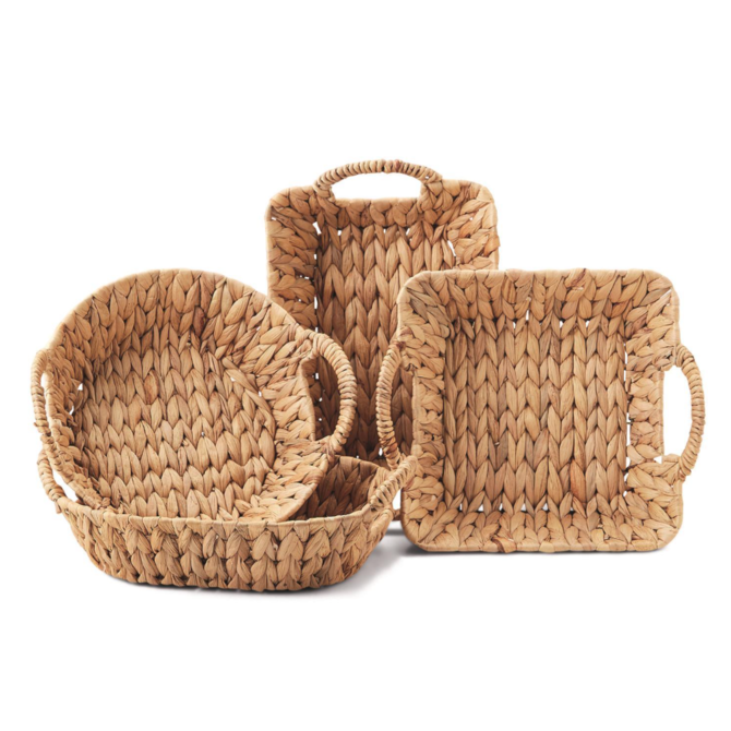 Two's Company Weavings Baskets Round
