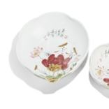 Two's Company Japanese Blossoms Bowl Large