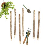 Two's Company Set of 6 Garden Markers in Gift Bag