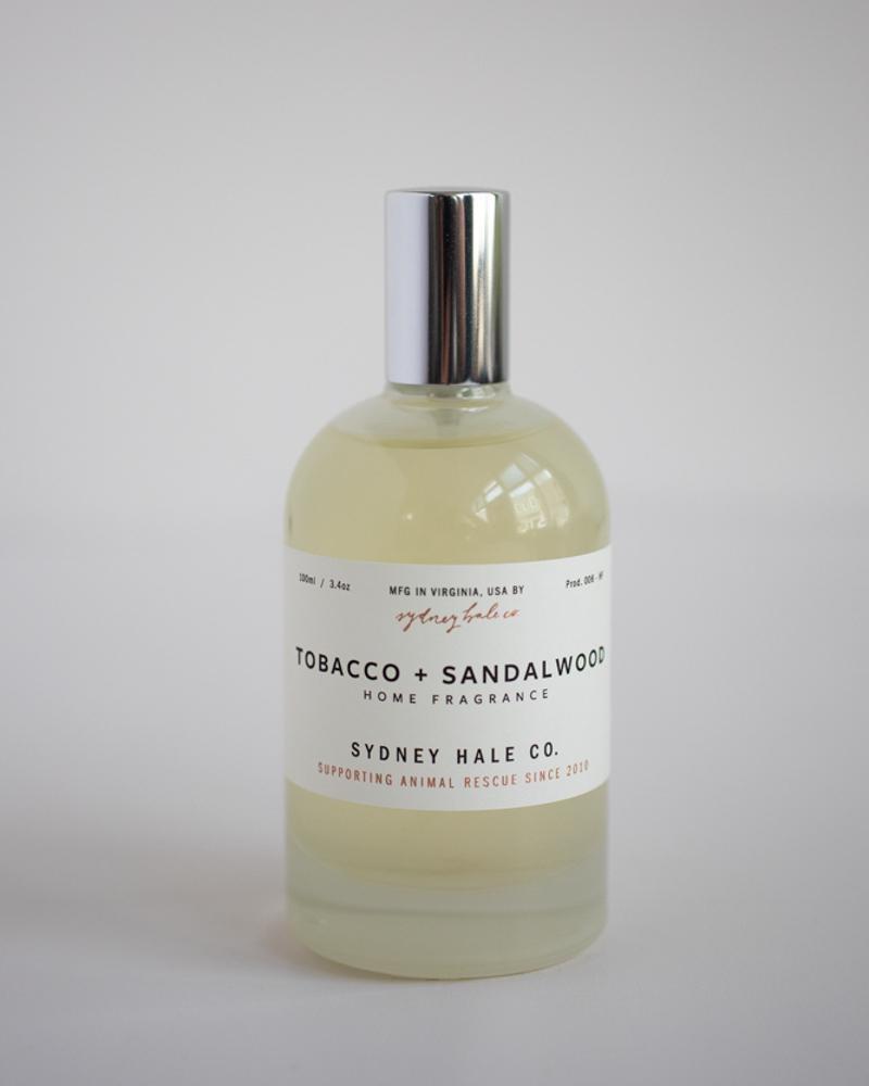 Sydney Hale Co Tobacco & Sandlewood Room Spray
