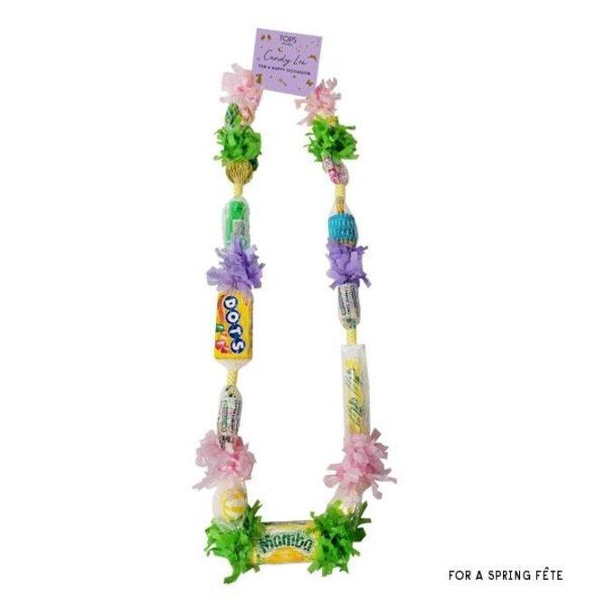 Tops Malibu Candy Lei - Spring Fete