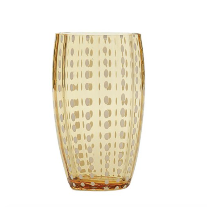 Zafferano perle tumbler amber PR00104H