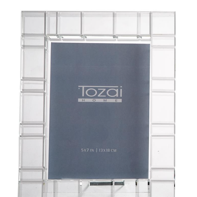 Two's Company Crystal Vision Photo Frame Large