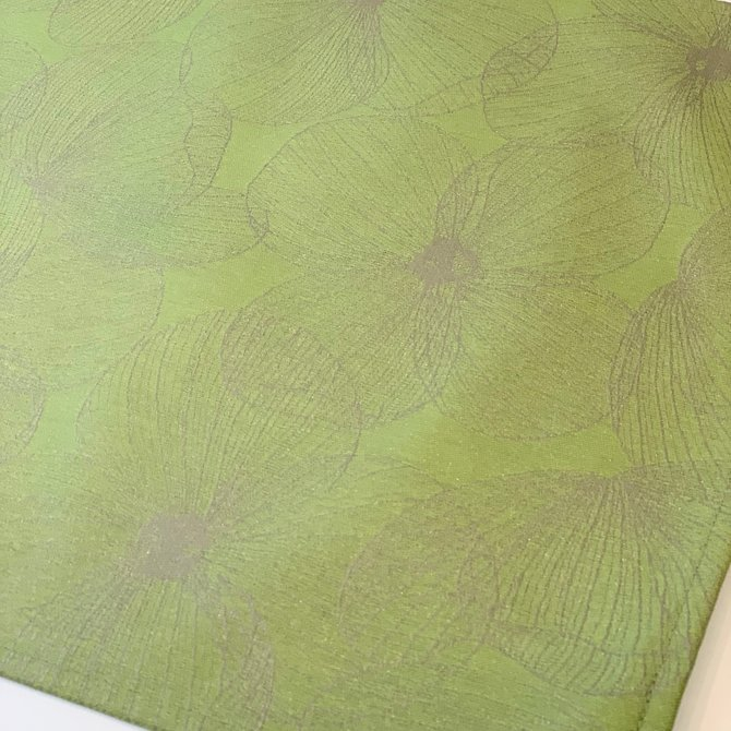 LJF Coated Placemat Ala Carte Green