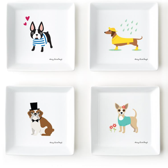 Two's Company SCB Kennel Club Plates (8 breeds) - 51034-20