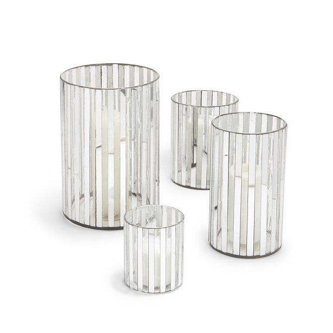 Two's Company Iridescent Vase/Candleholder Medium
